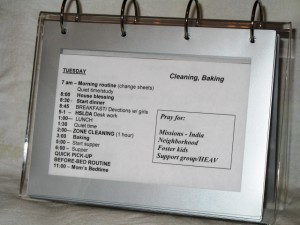 Flip Chart -- Everyday Homemaking