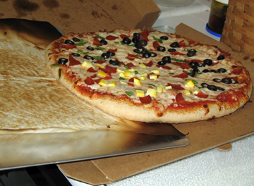 Homemade Pizza -- Everyday Homemaking