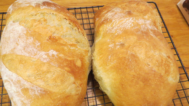 No-Knead Crusty Artisan Bread -- Everyday Homemaking