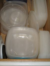 Leftover Containers -- Everyday Homemaking