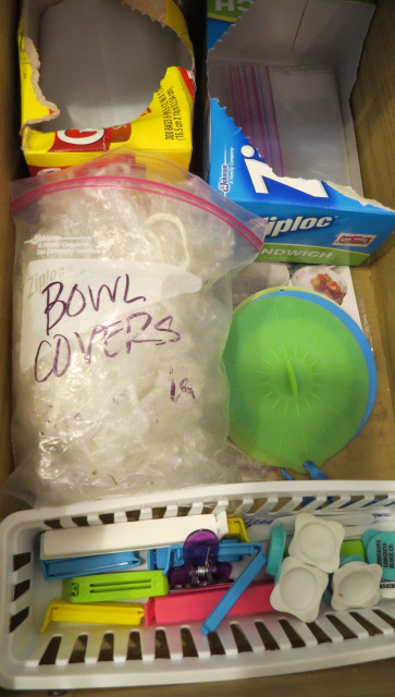 Organizing Leftover Containers -- Everyday Homemaking