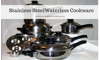 Stainless Steel Waterless Cookware