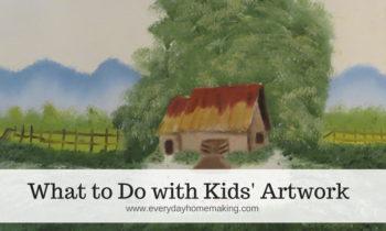 9 Ideas for Children's Artwork
