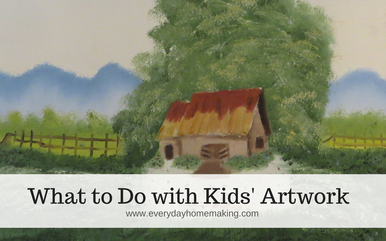 9 Ideas for Children's Artwork