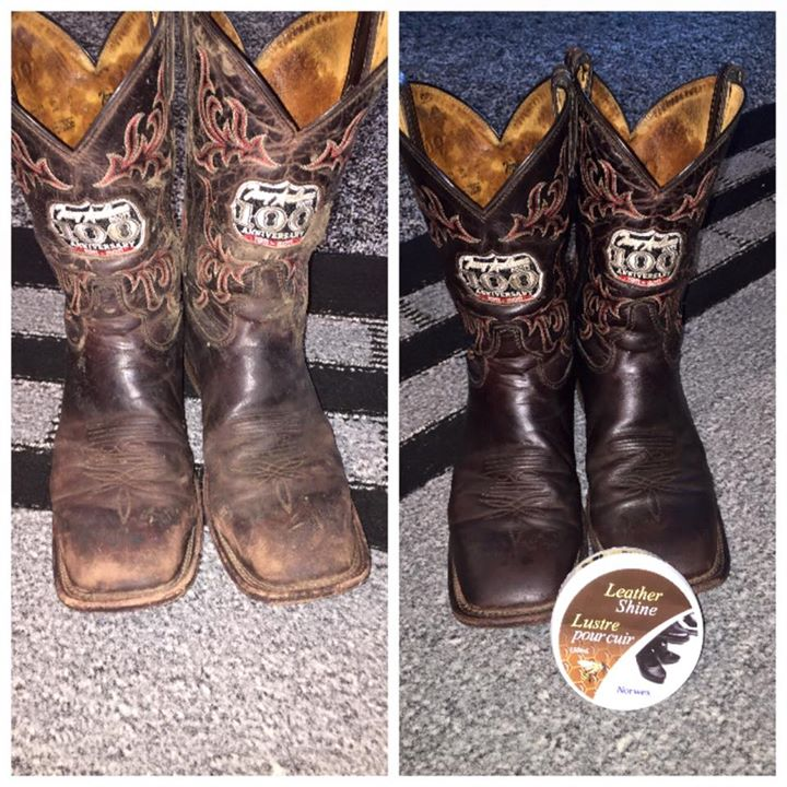 before and after boots leathershine 2
