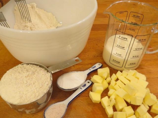 biscuits ingredients