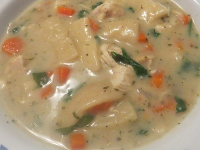 cream of leftovers soup