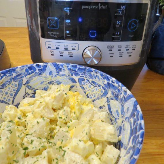 potato salad in quick cooker