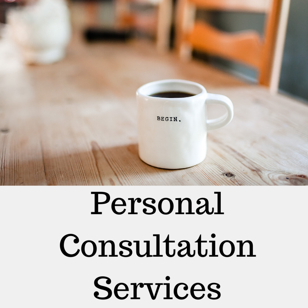 Personal consultation services for homeschoolers
